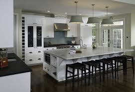 Long Narrow Kitchen Ideas by Kitchen Island With Bench Seating Fireplace Mantle Interior Paint