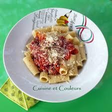 pates a l amatriciana rigatoni all amatriciana cuisine et couleurs