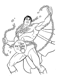 Superman Coloring Pages For Kids Printable Free
