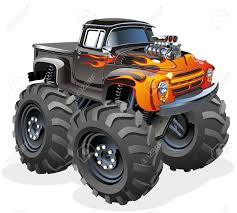 Pin By Kingofkings413 On Monster Trucks | Pinterest | Cars Toons ... Monster Truck Clip Art Clipart Images Clipartimagecom Cartoon Royalty Free Vector Image 4x4 Buy Stock Cartoons Royaltyfree Monster Truck Available Eps10 Vector Format With Illustrations Creative Market Red