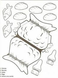 19 Five Loaves And Two Fishes Coloring Page