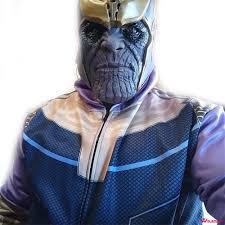 3 Thanos Avengers 3D Printed Costume Hoodies Men Cosplay 2018 Wolamola
