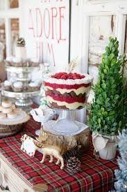 Modern Vintage Christmas Themed Party Ideas So Pretty Lots Of Decor