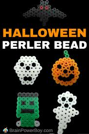 Free Frankenstein Pumpkin Stencil Printables by 5 Halloween Perler Bead Pattern Ideas