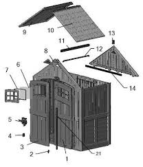 Suncast Shed Bms7400 Accessories by Suncast Cascade 7x4 Storage Shed Bms7400d Free Shipping