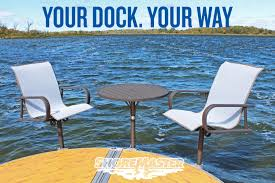 new premium dock furniture from shoremaster and homecrest outdoor