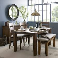 remarkable crate and barrel dining table on classic home interior
