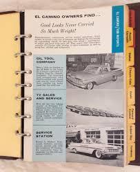 100 1959 Chevy Panel Truck CHEVROLET DEALER El Camino Suburban Pickup TRUCK DATA