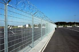 The Drawing Of Anti Climb Fence Installation Including Recommendations Relating To Security Methods