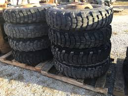 Heavy Duty Military Tires And Wheels