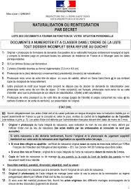 sous prefecture de raincy bureau des etrangers naturalisation ou reintegration par decret pdf