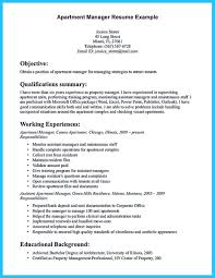 Property Manager Resume Sample New There Are Several Parts To Write Your Assistant Of