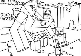 Coloring Minecraft Free Doc Download