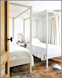 Twin Metal Canopy Bed Pewter With Curtains by Canopy Curtains For Twin Size Bed Curtains Home Design Ideas