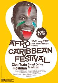 Poster Afro Caribbean Festival 2012