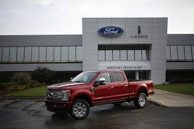 Ford Recalls 53,000 Trucks, Citing Risk Of Rolling - WSJ Ford Is Vesting 25 Million Into Its Louisville Plant To Make Hot Truck Plant Human Rources The Best 2018 Restart F150 Oput Following Supplier Fire Rubber And 5569 Apply For 50 Jobs At Pickup Truck Troubles Will Impact 2700 Workers Makes 5 Millionth Super Duty Kentucky Ky Lake Erie Electric Suspends All Production After Michigan Allamerican Pickup Trucks Aim Lure Chinas Wealthy Van Natta Shows Off Louisvillemade Dearborn Test Track Motor Co Historic Photos Of And Environs