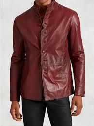 slim fit leather jackets men fashion leather jacket men slim fit
