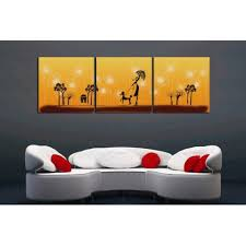 Printed Canvas Art With Stretched Frame