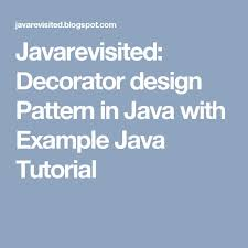 Decorator Pattern Java Example Stackoverflow by The 25 Best Pattern Programs In Java Ideas On Pinterest Design