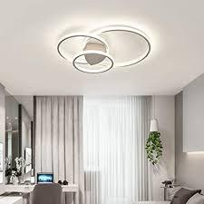 led modern deckenleuchte dimmbar minimalistische wohnzimmer