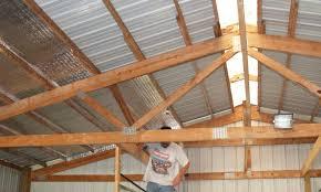 Need to insulate a pole barn Spray foam question