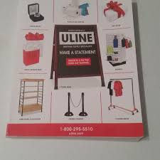 ULINE CATALOG JUST RECEIVED SWAP ONLY IM ASKING 025