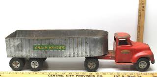 100 Toy Farm Trucks And Trailers Tonka S Grain Hauler Vintage Pressed And 50 Similar Items