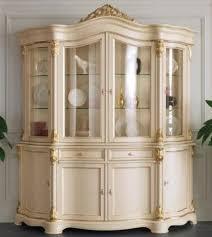 casa padrino luxus barock vitrine creme gold 207 x 54 x h 234 cm prunkvoller barock vitrinenschrank mit 8 türen und 2 schubladen barock