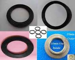black rubber kitchen bathroom sink tap pop up waste seal o