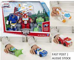 Rescue Bots - Playskool Heroes - BLADES, CHASE, BOULDER, HEATWAVE ...