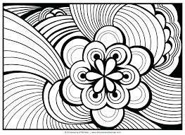 Full Image For Free Printable Advanced Coloring Pages Adults Detailed