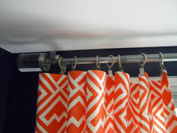 Jcpenney Curtain Rod Finials by Pies And Puggles Office Makeover Diy No Sew Curtains