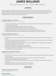 Ideas Of Certified Nursing Assistant Resumes Easy Cna Resume Sample