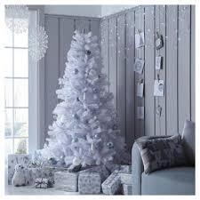 Pre Lit Slim Christmas Tree Asda by Christmas Trees Christmas Decorations Tesco