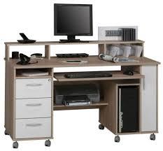 Small Corner Computer Desk Walmart by Desks Wooden Computer Desk With Rollers L Shaped Computer Desk