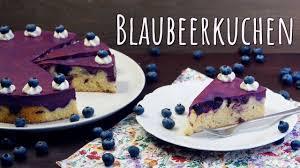 blaubeerkuchen backen schnelle einfache kuchen selber machen soo lecker
