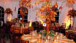 Elegant Fall Wedding Decorations