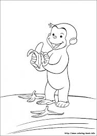 Curious George Coloring Pages Printable 97340