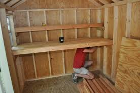 10x20 Shed Floor Plans by How To Build Shed Storage Shelves One Project Closer