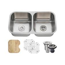 franke dual mount stainless steel 33 25x19 12x9 double bowl
