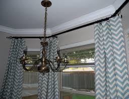 pretty chevron pattern curtain home design