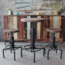 US $75.13 37% OFF|Bar Stools Morden Pinewood Top Round Table Chair Height  Adjustable Swivel Counter Bistro Pipe Style Kitchen Dining Table Chair-in  ... Bemkenswert Pub Style Table Height Chairs Extenders Stools Glacier With 4 Post Mission Swivel Bar Units And Tables Set 19 Small Upholstered By New Classic At Lapeer Fniture Mattress Center Cramco Trading Company Starling 3 Piece Pinnadel Counter Stool Ashley Homestore Details About Round Natural Wood Top Bistro Kitchen Ding S2a4 Muskoka Swivel Balcony Chairs 499 Cottage D White Folding And Chair Dinette With Replace Rv Sets Homesfeed