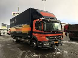 MERCEDES-BENZ Atego 1218 Day Cab, Euro 5 Closed Box Trucks For Sale ...