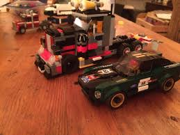 100 Lego Semi Truck Built A Semi Truck In Scale With Speed Champions Work In Progress