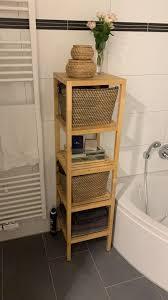 badezimmerungestaltung ordnung ikea molger holz