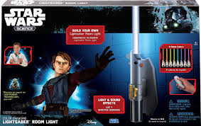 wars science multicolor lightsaber room light