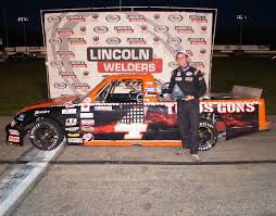 ARCA Truck Series: Myers Grabs 3rd Win Of The Season At Columbus ...