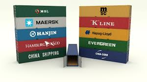 100 Shipping Container Model Collection