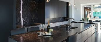 marmor arbeitsplatte naturstein hotte edel und günstig