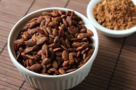 Hulled Pumpkin Seeds Calories by Delicious As It Looks Two Recipes For Roasted Pepitas Pumpkin Seeds